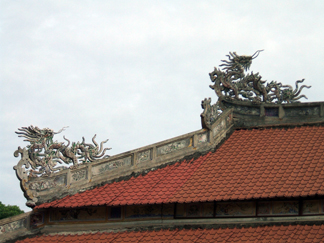 越南漫遊記 2010年5月24~30日フエ グエン朝王宮跡(太廟、内務府、閲是閣、欽文殿)